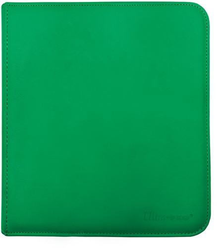 Zippered 12-Pocket Pro-Binder - Groen