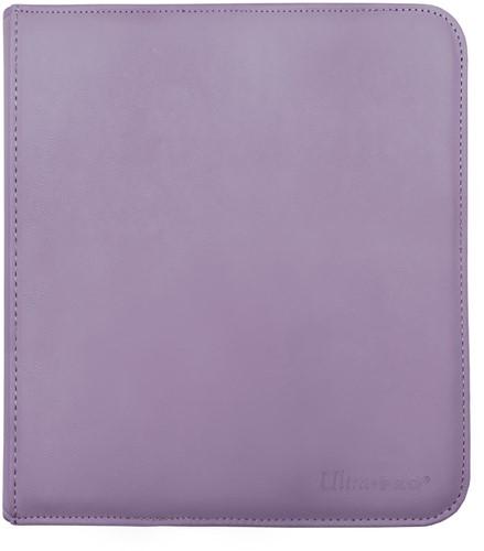 Zippered 12-Pocket Pro-Binder - Paars