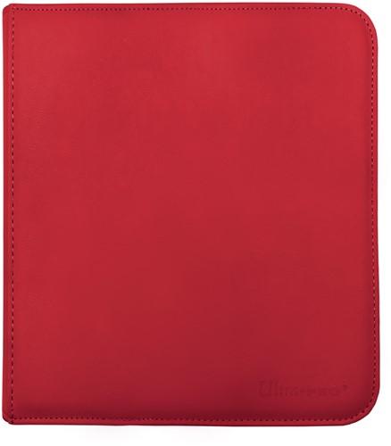 Zippered 12-Pocket Pro-Binder - Rood