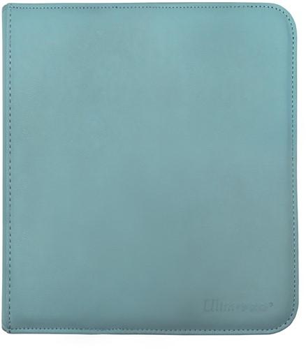 Zippered 12-Pocket Pro-Binder - Licht Blauw
