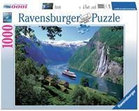 Noorse Fjord Puzzel (1000 stukjes)