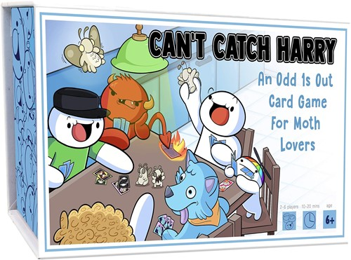 Cant Catch Harry - An Odd 1s Out Card Game