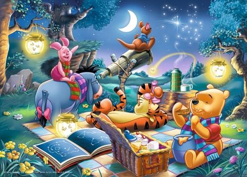 Disney Winnie de Poeh Puzzel (1000 stukjes)-2