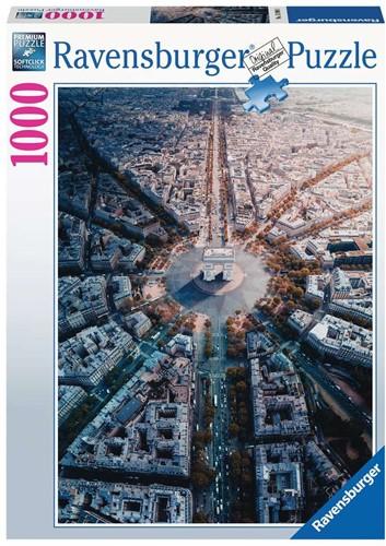 Parijs van Bovenaf Gezien Puzzel (1000 stukjes)