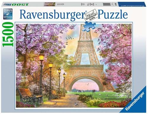 Verliefd in Parijs Puzzel (1500 stukjes)