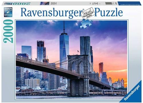 Van Brooklyn naar Manhatten Puzzel (2000 stukjes)