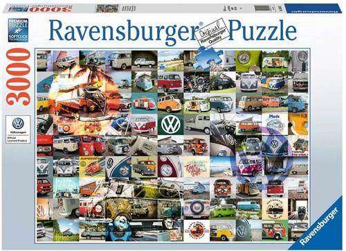 99 VW Bulli Moments Puzzel (3000 stukjes)