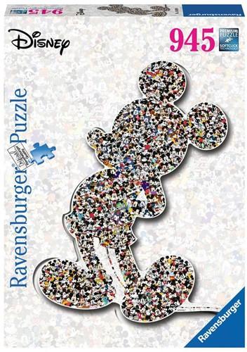 Shaped Birthday Mickey Puzzel (945 stukjes)
