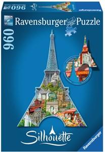 Ravensburger silhouette Eiffeltoren
