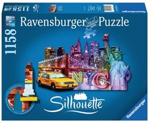 Ravensburger silhouette skyline New York