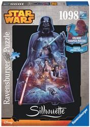 Silhouettepuzzel Star Wars Darth Vader