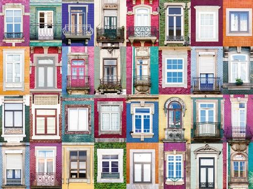 Ramen in Porto Puzzel (1500 stukjes)-2
