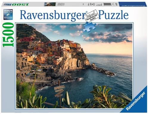 Uitzicht op Cinque Terre Puzzel (1500 stukjes)