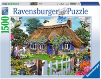 Cottage in England Puzzel (1500 stukjes)