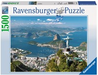 View of Rio Puzzel (1500 stukjes)