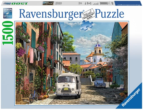 Idylisch Zuid Frankrijk Puzzel (1500 stukjes)-1
