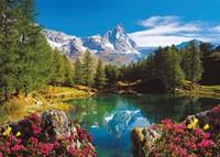 Bergmeer bij Matterhorn Puzzel (1500 stukjes)-2