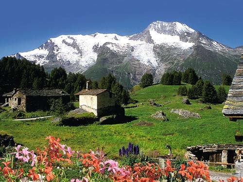 Le Monal Sainte-Foy Tarentaise Puzzel (1500 stukjes)-2