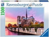 Pitoreske Notre Dame Puzzel (1500 stukjes)
