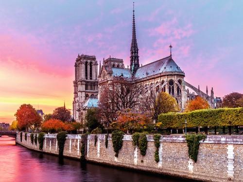 Pitoreske Notre Dame Puzzel (1500 stukjes)-2