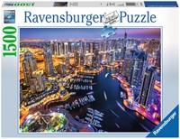 Dubai aan de Perzische Golf Puzzel (1500 stukjes)-1