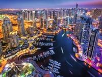 Dubai aan de Perzische Golf Puzzel (1500 stukjes)-2