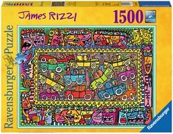 James Rizzi Party Puzzel (1500 stukjes)