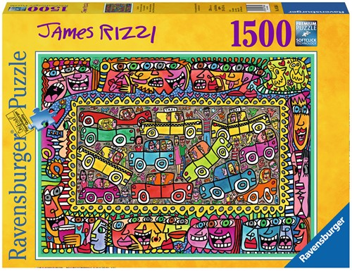 James Rizzi Party Puzzel (1500 stukjes)-1