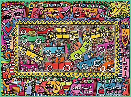 James Rizzi Party Puzzel (1500 stukjes)-2