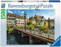 Zomers Straatsburg Puzzel (1500 stukjes)-1