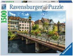 Zomers Straatsburg Puzzel (1500 stukjes)