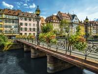 Zomers Straatsburg Puzzel (1500 stukjes)-2