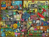 Rommelige Kast - Colin Thompson Puzzel (1500 stukjes)-2