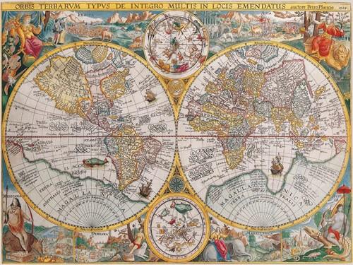 Historische Kaart Puzzel (1500 stukjes)-2
