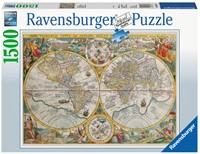 Historische Kaart Puzzel (1500 stukjes)