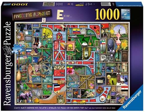 Awesome Alphabet E & F Puzzel (1000 stukjes)