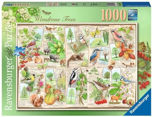 Bijzondere Bomen Puzzel (1000 stukjes)