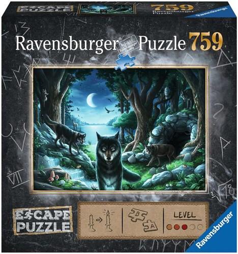 Escape 7 Curse of the Wolves Puzzel (759 stukjes)