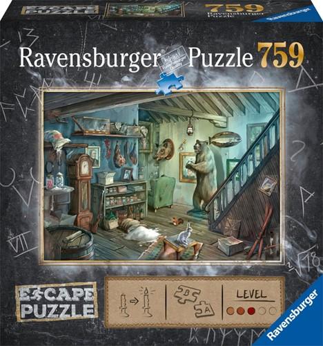 Escape 8 Forbidden Basement Puzzel (759 stukjes)