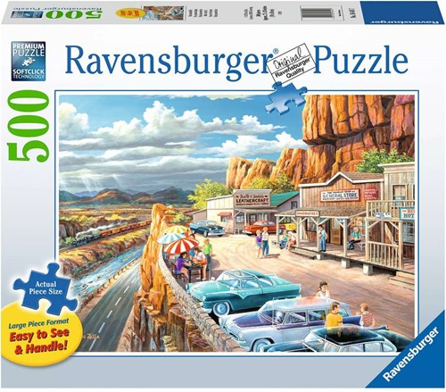 Mooi Uitzicht Puzzel (500 stukjes)