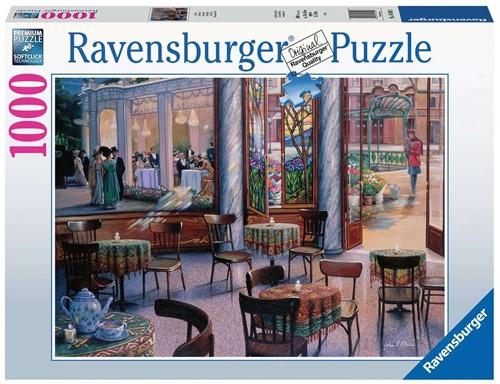 Cafebezoek Puzzel (1000 stukjes)