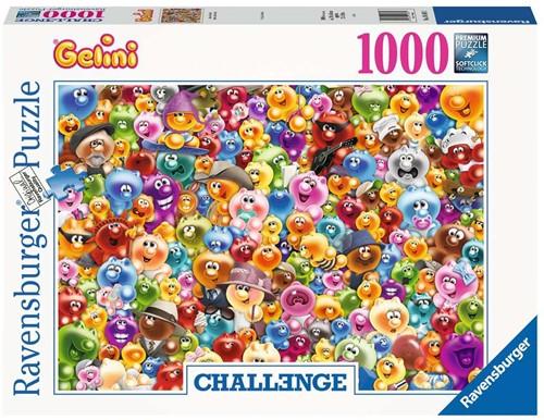 Heel veel Gelini Puzzel (1000 stukjes)