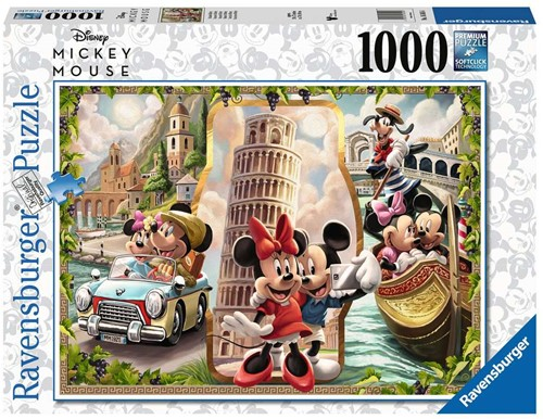 Mickey Mouse Puzzel (1000 stukjes)