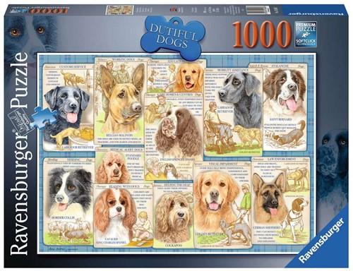 Trouwe Honden Puzzel (1000 stukjes)