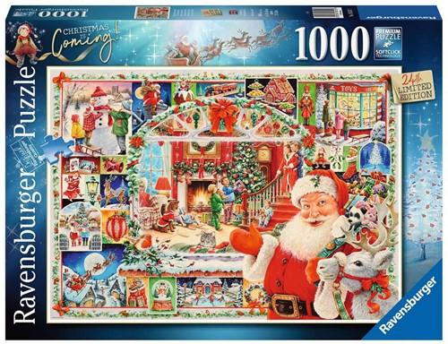 Christmas Is Coming! Puzzel (1000 stukjes)