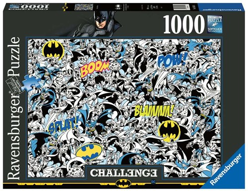 Challenge Puzzel - Batman (1000 stukjes)