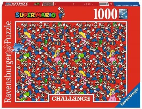 Challenge Super Mario Bros Puzzel (1000 stukjes)