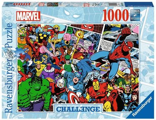Challenge Puzzel - Marvel (1000 stukjes)