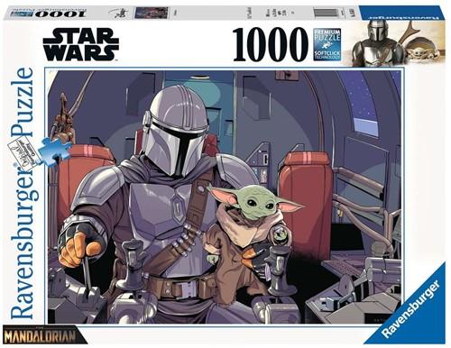 Star Wars - The Mandalorian Puzzel (1000 stukjes)