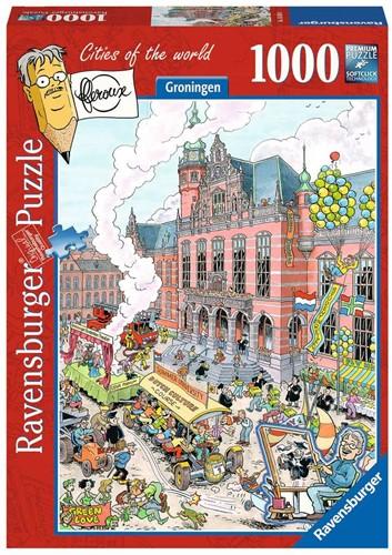 Fleroux - Groningen Puzzel (1000 stukjes)